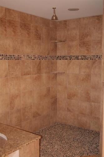 Updated shower